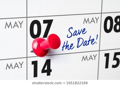 Save the Date May 7th
